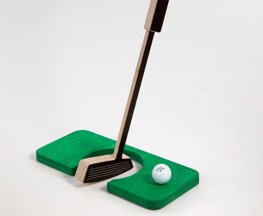 Kontori golfimängu kinkekoplekt